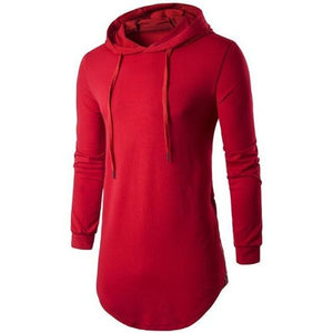 Red-Long-Hoodie-T-Shirt  - Kwikibuy Amazon Global
