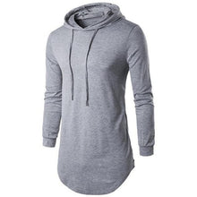 Load image into Gallery viewer, Long Hoodie T-Shirt (5 Sizes - 5 Colors)  - Kwikibuy Amazon Global