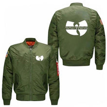 Load image into Gallery viewer, Wu Tang Bomber Jacket (3 Colors - 10 Sizes)  - Kwikibuy Amazon Global 3 Colors: Black, Dark Blue or Green 10 Sizes (See Size Chart) Material: Polyester GodBody
