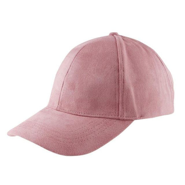 Suede Snapback Cap (Light Pink) - Kwikibuy Amazon
