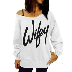 Wifey Cotton Pullover Blouse (3 Colors - 4 Sizes)  - Kwikibuy Amazon Global