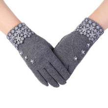 Load image into Gallery viewer, High-Quality-Fashion-Lace-Warm-Gloves-Purple  - Kwikibuy Amazon Global
