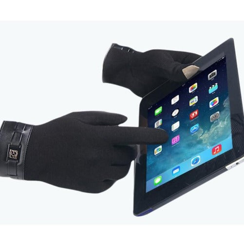 Cashmere Touchscreen Gloves (Black) Kwikibuy Amazon Global | Men | Cashmere | Gloves | Mittens | Touchscreen | Outerwear | iPhone