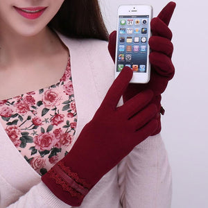 Cotton-Touchscreen-Gloves-Pink  - Kwikibuy Amazon Global