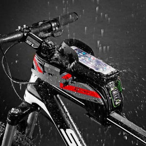 Portable-Rainproof-Bicycle-Touch-Screen-Phone-Bag-with-Lid-Grey  - Kwikibuy Amazon Global