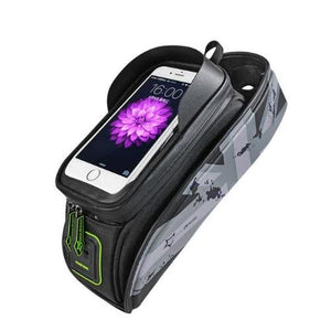 Portable Rainproof Bicycle Touch Screen Phone Bag with Lid (4 Colors) - Kwikibuy Amazon Global