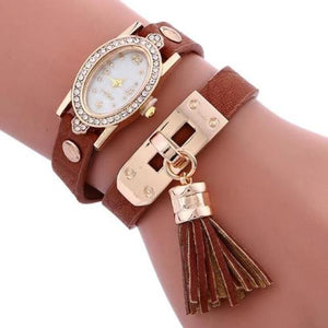 Simplicity Chimes Leather Watch (6 Colors) - Kwikibuy Amazon Global