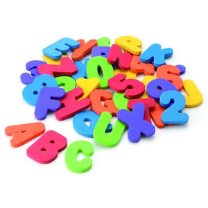 Educational Bath Toys 36 Numbers & Letters  - Kwikibuy Amazon Global