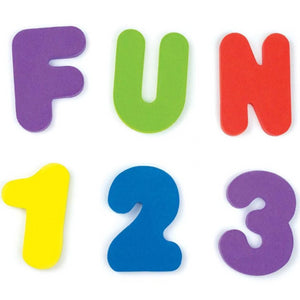 Educational Bath Toys 36 Numbers and Letters  - Kwikibuy Amazon Global