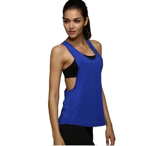 Quick-Dry-Loose-Fitness-Tank-Tops-Blue-Buy-One-Get-Two  - Kwikibuy Amazon Global