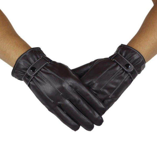 Shop-Now-Waterproof-Non-slip-Leather-Gloves-Black-Kwikibuy.com-gloves-mittens-Men-non-slip-leather