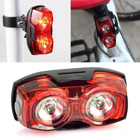 Super Bright Red LED Bicycle Safety Tail Light $8 - Kwikibuy.com™® Official Site