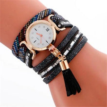 Load image into Gallery viewer, Vintage-Pendant-Leather-Bracelet-Quartz-Wristwatch  - Kwikibuy Amazon Global