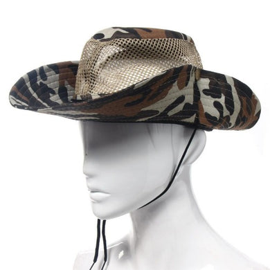 Breathable Mesh Camouflage Drawstring Hat  - Kwikibuy Amazon Global