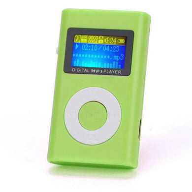 🍀 Mini LCD Screen MP3 Player (5 Colors)  - Kwikibuy Amazon Global