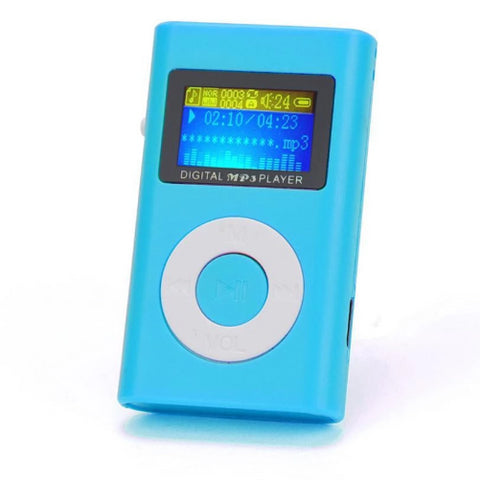 Mini-LCD-Screen-MP3-Player-Blue-Buy-One-Get-Two  - Kwikibuy Amazon Global