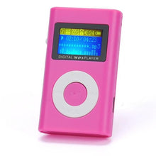 Load image into Gallery viewer, Mini LCD Screen Black MP3 Player (5 Colors) - Kwikibuy Amazon Global