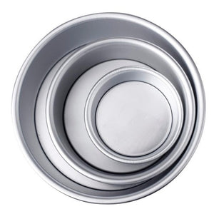 Non-stick  4 inch, 6 inch, or 8 inch Round Metal Cake Pan  - Kwikibuy Amazon Global