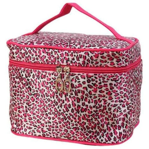Cosmetic Travel Case (Pink Leopard) Kwikibuy Amazon Global | Woman | All | Cosmetics | Travel | Case