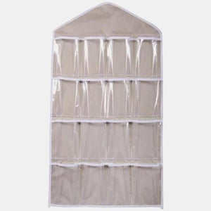 16 Clear Pockets Hanging Storage Organizer (4 Colors)  - Kwikibuy Amazon Global