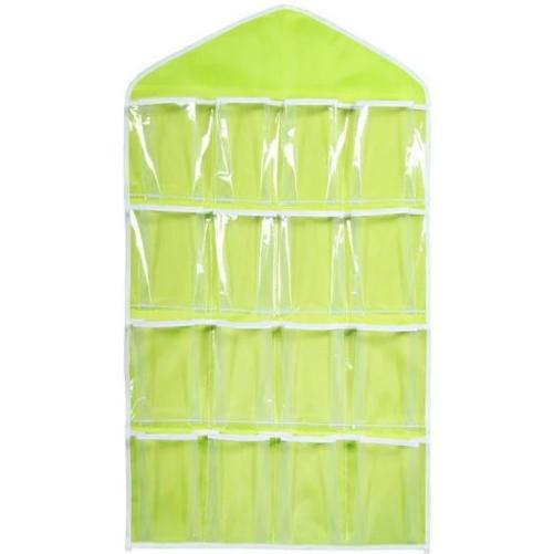 16-Clear-Pockets-Hanging-Storage-Organizer-Green-Buy-One-Get-Two  - Kwikibuy Amazon Global