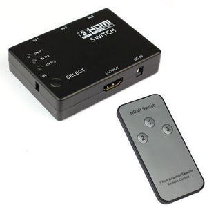 1080p-Full-HD-3-Port-HDMI-Switch-Hub-with-Remote-Control  - Kwikibuy Amazon Global