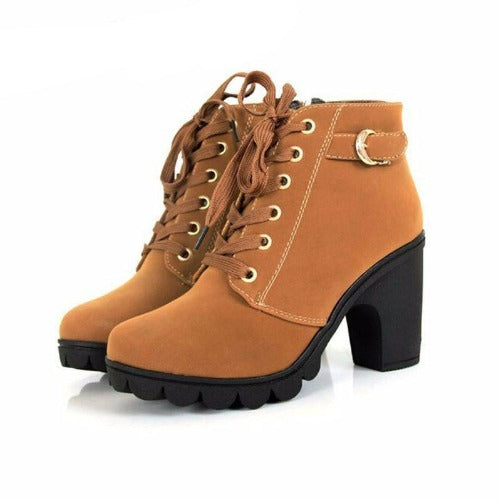 Buy-Now-Comfortable-Soft-Leather-Platform-Heel-Boots-Brown-Kwikibuy.com-Women-All-Footwear-It's-Fashion-Boots-Shoes