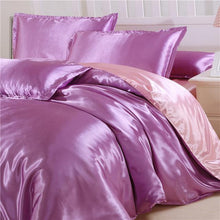 Load image into Gallery viewer, Satin Duvet Cover Sets (22 Colors - 3 Sizes)  - Kwikibuy Amazon Global