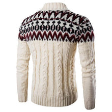 Load image into Gallery viewer, Vintaged Beige Knitted Pullover Sweater  - Kwikibuy Amazon Global