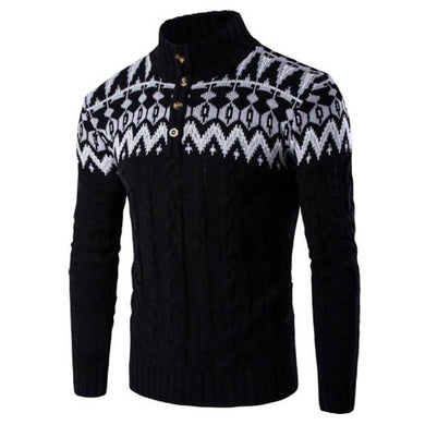 Vintaged Black Knitted Pullover Sweater  - Kwikibuy Amazon Global