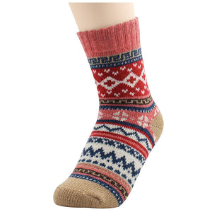 5 Pack Women\'s Super Thick Mid-Calf Crew Socks  - Kwikibuy Amazon Global