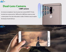 Load image into Gallery viewer, Unlocked 6 Inch Android 7.0 Fingerprint 4G Quad Core Dual Sim GPS Smartphone  2GB 16GB  - Kwikibuy Amazon Global