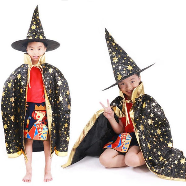 Halloween Witch & Wizard Hat and Cloak | Kwikibuy Amazon | United States