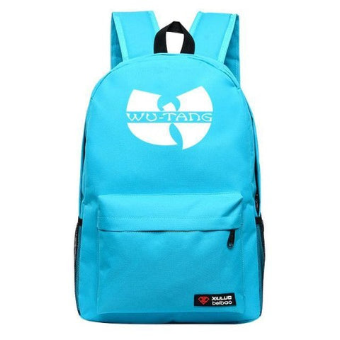 Shop-Now-Wu-Tang-Backpack-7-Colors-Light-Blue - Kwikibuy.com™® Official Site
