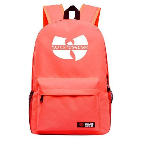 Wu-Tang-Backpack-7-Colors-Orange  - Kwikibuy Amazon Global