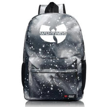 Load image into Gallery viewer, Wu Tang Backpack *7) Colors  - Kwikibuy Amazon Global Online S Hopping Mall *7) Colors: Black-Light-Dark-Blue-Green-Orange-Star-Grey-Blue Item Type: Wu Backpack