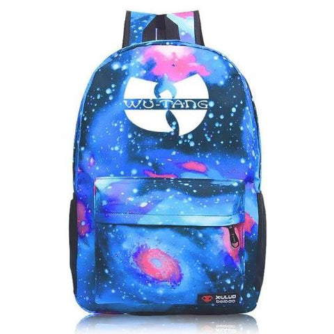 Wu-Tang-Backpack-7-Colors-Star-Blue  - Kwikibuy Amazon Global