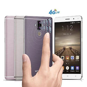 Unlocked 6 Inch Android 7.0 Fingerprint 4G Quad Core Dual Sim GPS Smartphone  2GB 16GB  - Kwikibuy Amazon Global