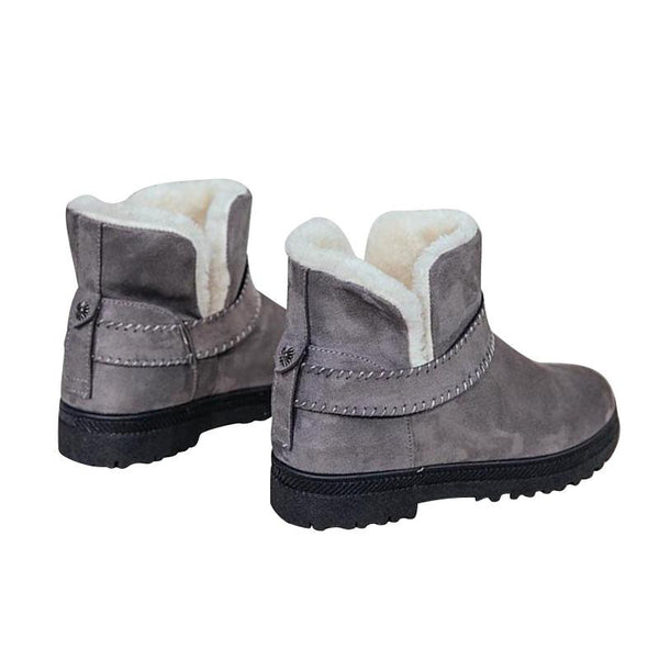 Women's Warm Winter Suede Ankle Platform Boots (Grey) | Kwikibuy Amazon | United States | All | Women | Fashion | Clothing | Boots | Shoes