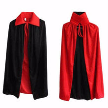 Load image into Gallery viewer, 👻 Masquerade Party Double-sides Black And Red Cloak  - Kwikibuy Amazon Global Online S Hopping Mall Size: 2.9 ft/90 cm or 4.5 ft/140 cm Material: Non-woven