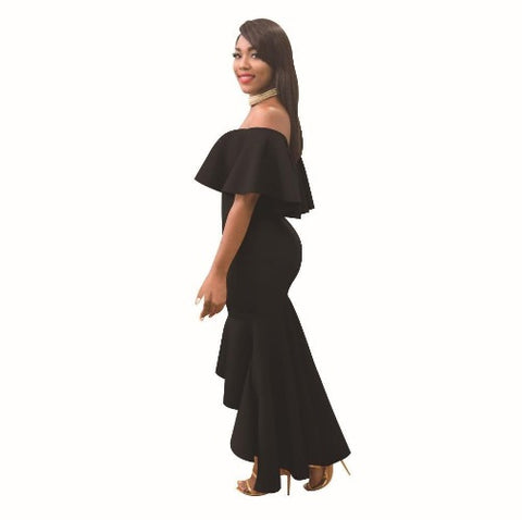 Shop-Now-Off-The-Shoulder-Strapless-Bodycon-Dress-Black-Kwikibuy.com-Women-Clothes