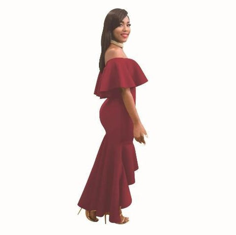 Buy-Now-Off-The-Shoulder-Long-Sleeve-Stretch-Rompers-Red- Kwikibuy Amazon Global-For a limited time Features: Condition: Brand new and high quality 4 Colors