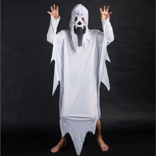 Load image into Gallery viewer, 👻 White Ghost Cloak Costume (Adult or Teen)  - Kwikibuy Amazon Global Online S Hopping Mall Components: Trench Material: Cotton Source Type: Holiday