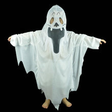Load image into Gallery viewer, White Ghost Cloak Costume (Adult or Teen)  - Kwikibuy Amazon Global Components: Trench Material: Cotton Source Type: Holiday Special Use: Costumes