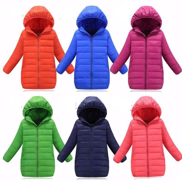 Down Jacket (6 colors) | Kwikibuy Amazon | United States | Children | Kids | Winter | Outer-wear | Coat