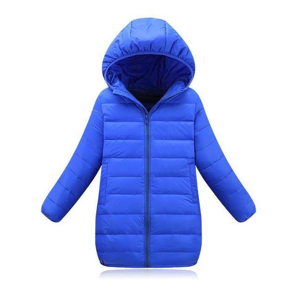 Down Jacket (Blue) | Kwikibuy Amazon | United States | Children | Kids | Winter | Outer-wear | Coat
