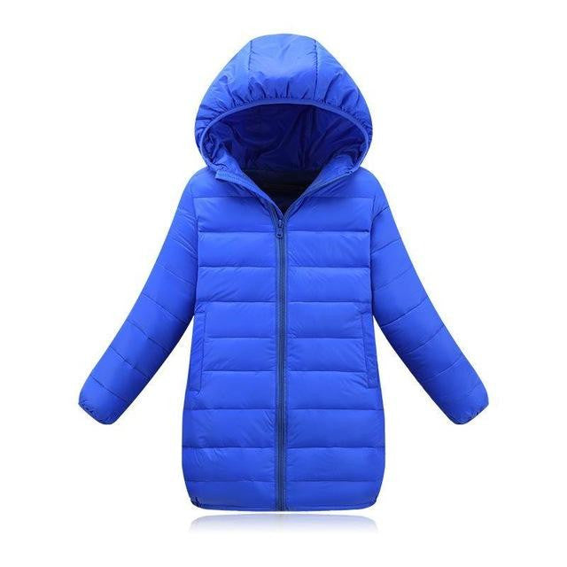 Down Jacket (Blue)  - Kwikibuy Amazon Global