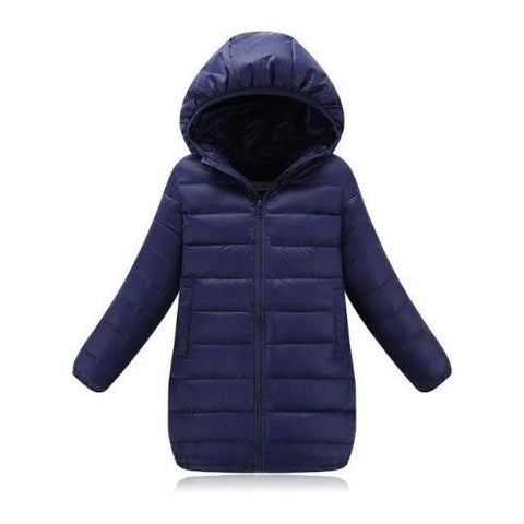 Down Jacket (Dark Blue) | Kwikibuy Amazon | United States | Children | Kids | Winter | Outer-wear | Coat