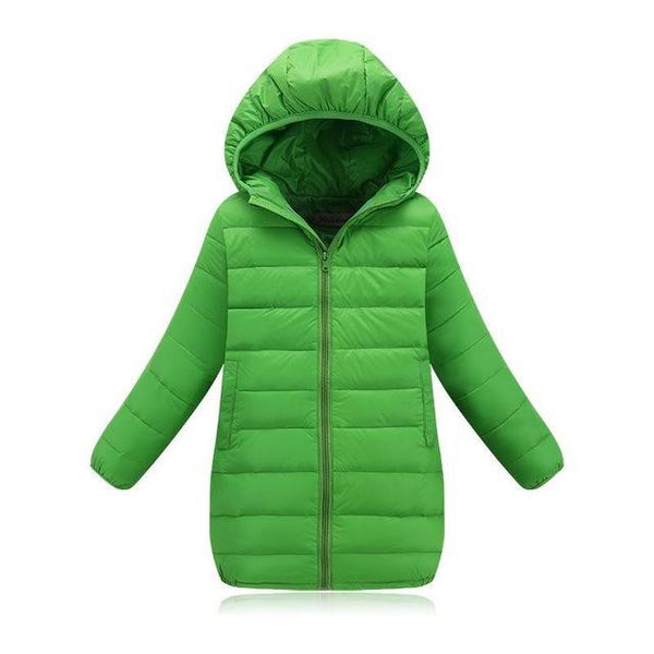 Down Jacket (Green) | Kwikibuy Amazon | United States | Children | Kids | Winter | Outer-wear | Coat