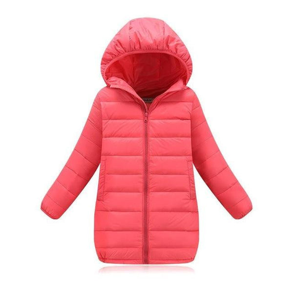 Down Jacket (Pink) | Kwikibuy Amazon | United States | Children | Kids | Winter | Outer-wear | Coat